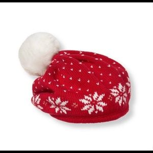 Janie and Jack Snowflake Beret 2T-3T
